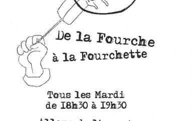 De la Fourche à la Fourchette a son affiche