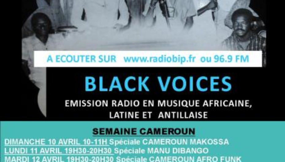 Programme de avril 2011 de l'émission Black Voices
