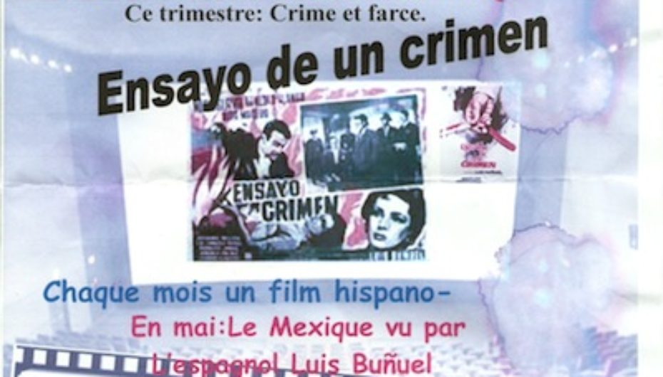 Projection du film Ensayo De Un Crimen le 19 mai 2011