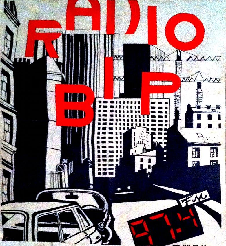 Affiche Radio Bip 1984