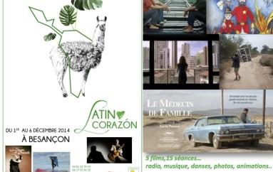 Festival Latino Corazon du 1er au 6 décembre 2014 à Besançon
