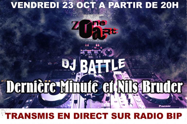 «Battle» avec les DJ's Dernière Minute et Nils Bruder
