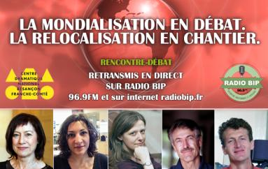 Jeudi 22 oct 2015 en direct : LA MONDIALISATION EN DÉBAT