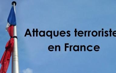Suite aux attentats …