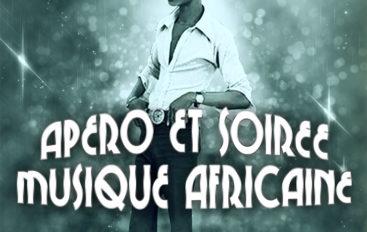 Soirée musique africaine, mardi 10 novembre