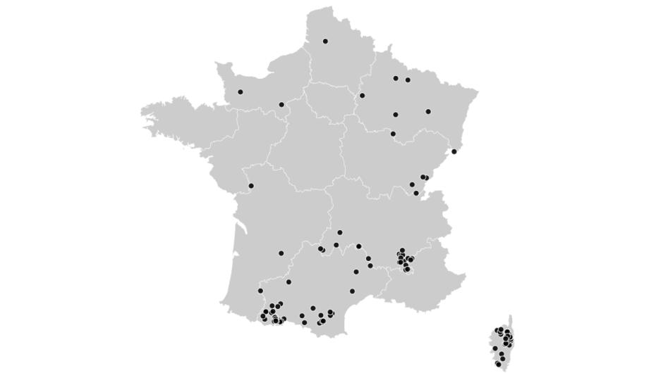 Les 110 communes qui n'ont accordé aucune voix au FN