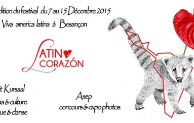 NOUVEAU FESTIVAL LATINO CORAZON, c'est la 7ème édition!
