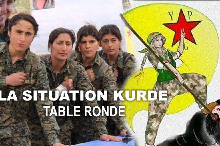 Table ronde sur la situation au Kurdistan