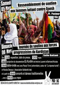 SOLIDARITE AVEC LES LUTTES DES FEMMES AU KURDISTAN