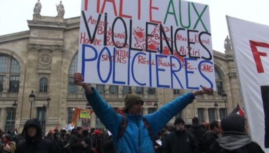 Rassemblement contre la répression policière et la criminalisation du mouvement social