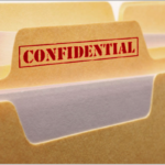 Image dossier confidentiel