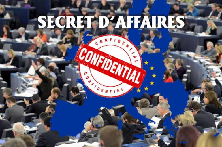 """Loi Européenne : """"Secrets d'affaires"""". Comment les eurodéputés de notre région ont voté ?"""