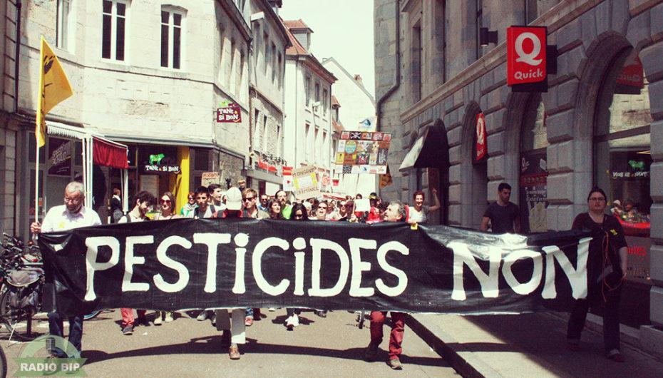 Marche mondiale contre Monsanto à Besançon