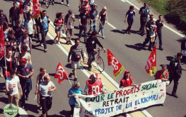 Les images de la manifestation du 26 mai à Besançon