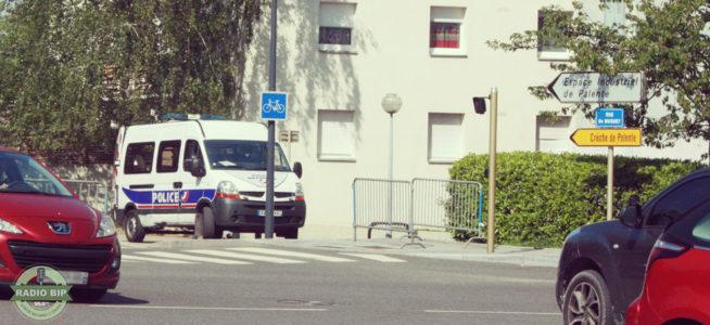 Voiture de police - 27 mai