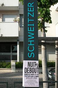 Arret tram Schweitzer