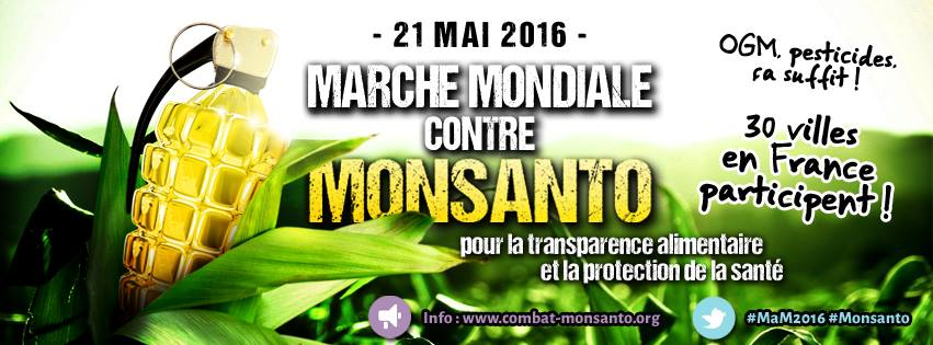 banierre contre monsanto
