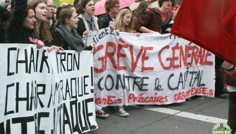 Les images de la manifestation du 19 mai à Besançon