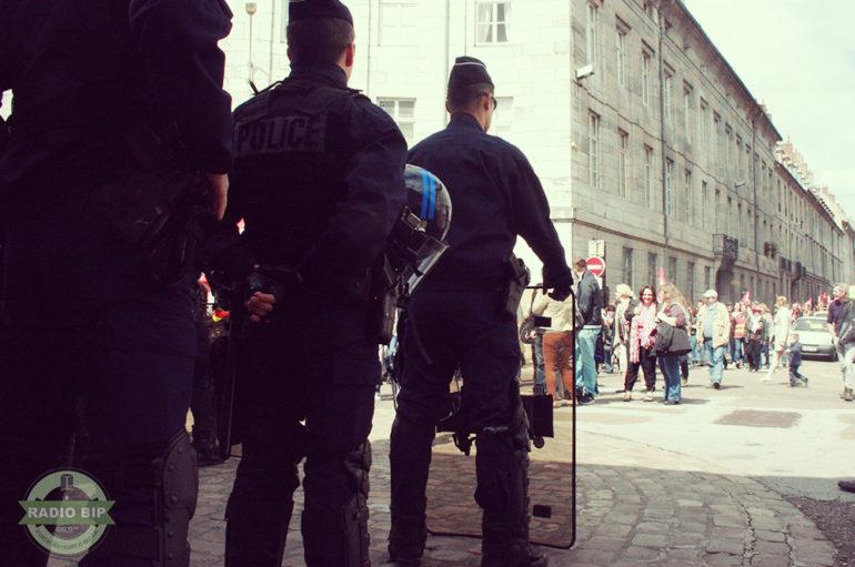 Les images de la journée du 17 mai à Besançon