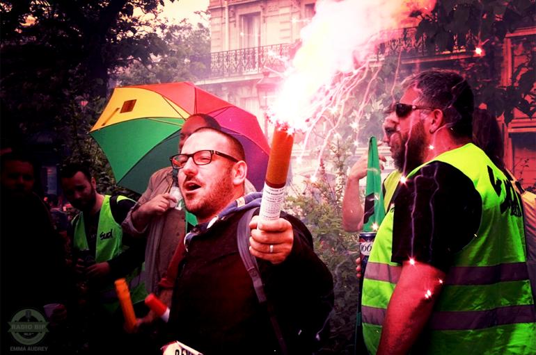 Manifestations,14 Juin à Paris – Nous avons suivi le cortege