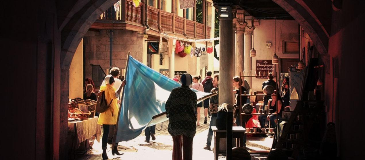 «Rue des savoir-faire» & «Wax Street» à Battant avec Zone Art