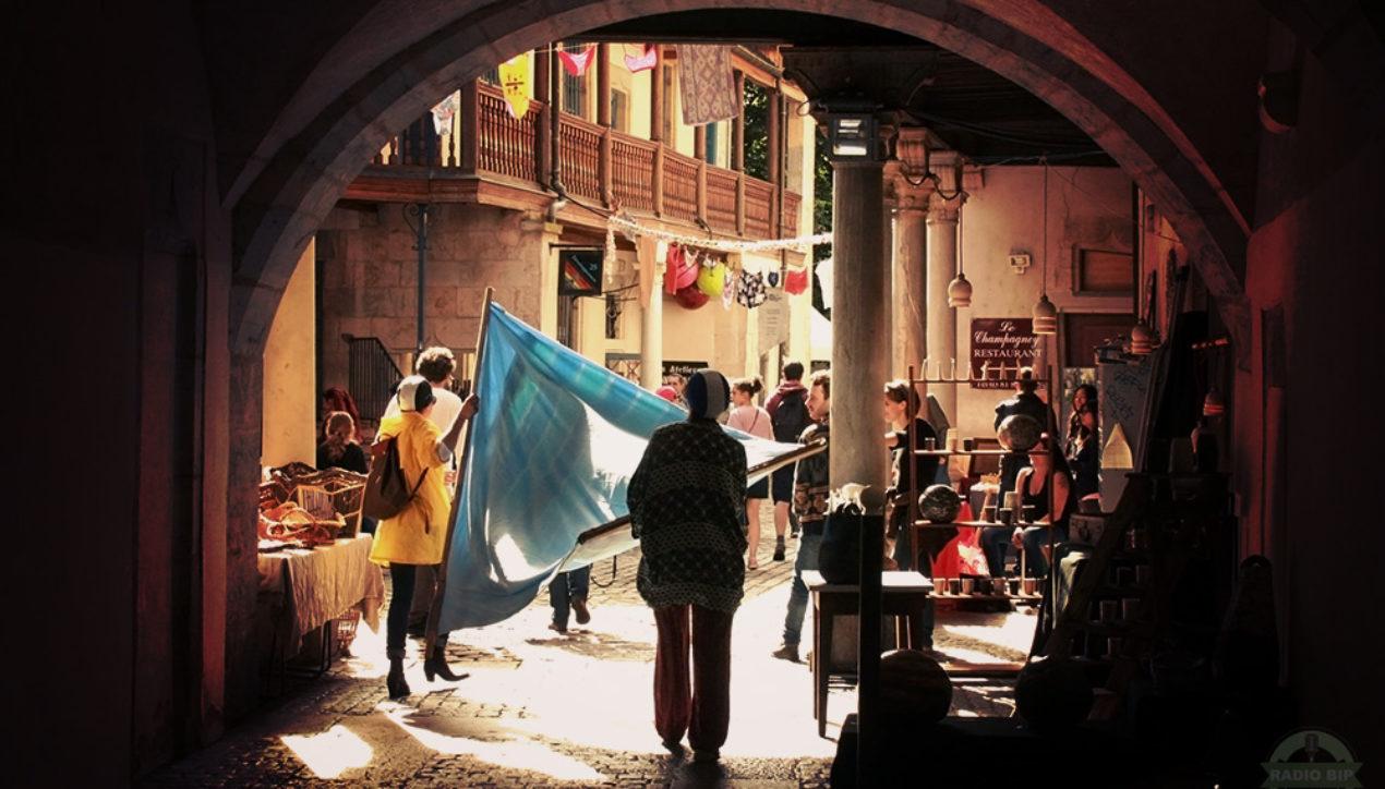 """""""Rue des savoir-faire"""" & """"Wax Street"""" à Battant avec Zone Art"""