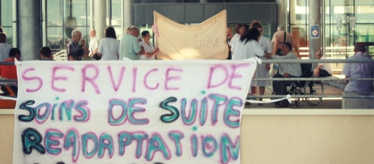 Grève du service des Soins de Suite et de Réadaptation au CHU Besançon