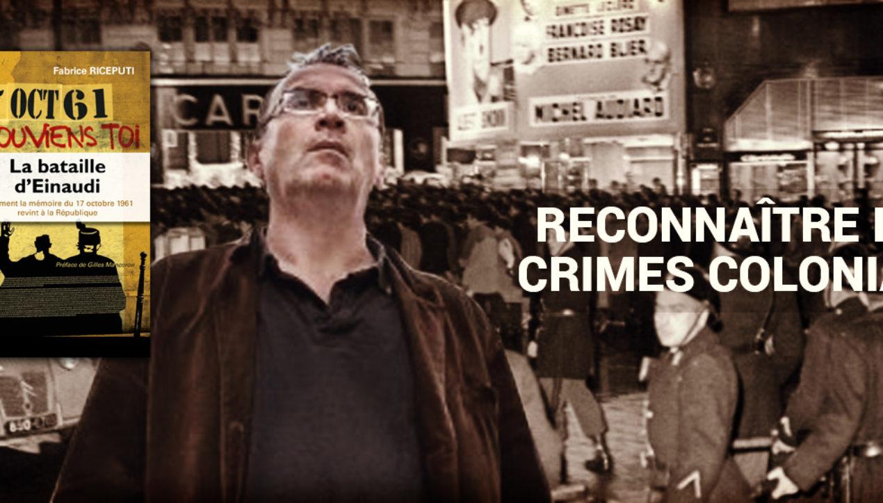 Conférenceavec Fabrice Riceputi – Reconnaître les crimes coloniaux