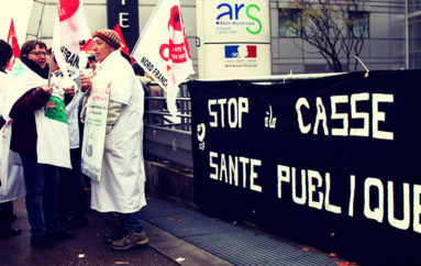 Grève des soignants du 8 novembre 2016