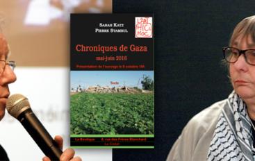 Palestine-Amitié | «Retour de Gaza» : soirée débat avec Sarah Katz et Pierre Stambul au FJT Les Oiseaux