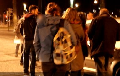 EXCLUSIF : Vidéo de l'interpellation de 2 membres de la Maison de l'Université par des manifestants