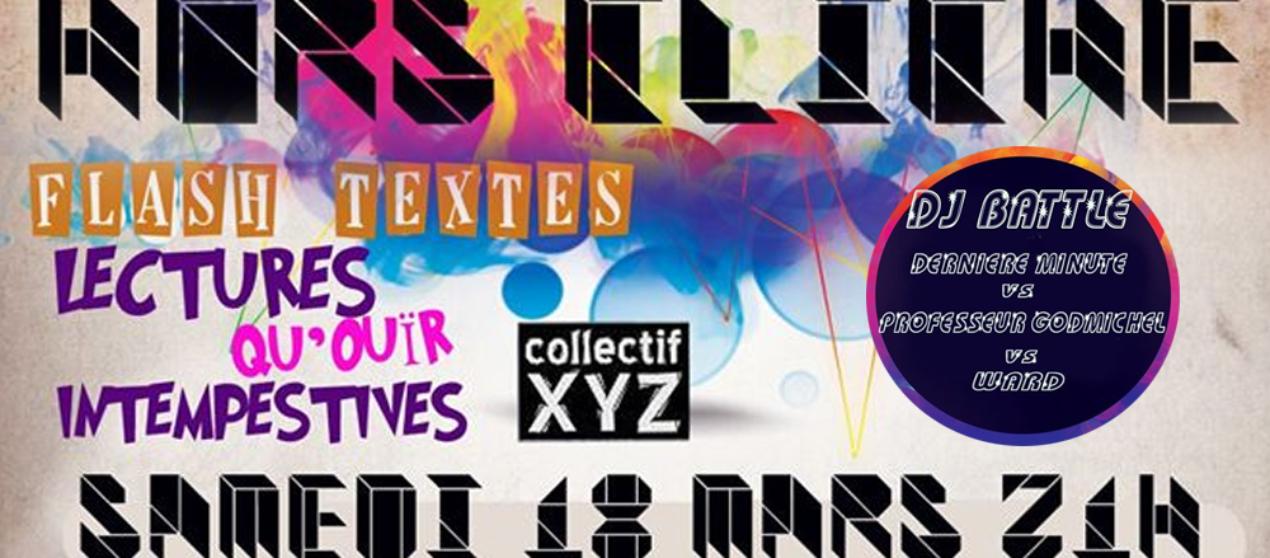 Lectures «Qu'ouir» intempestives & DJ Battle