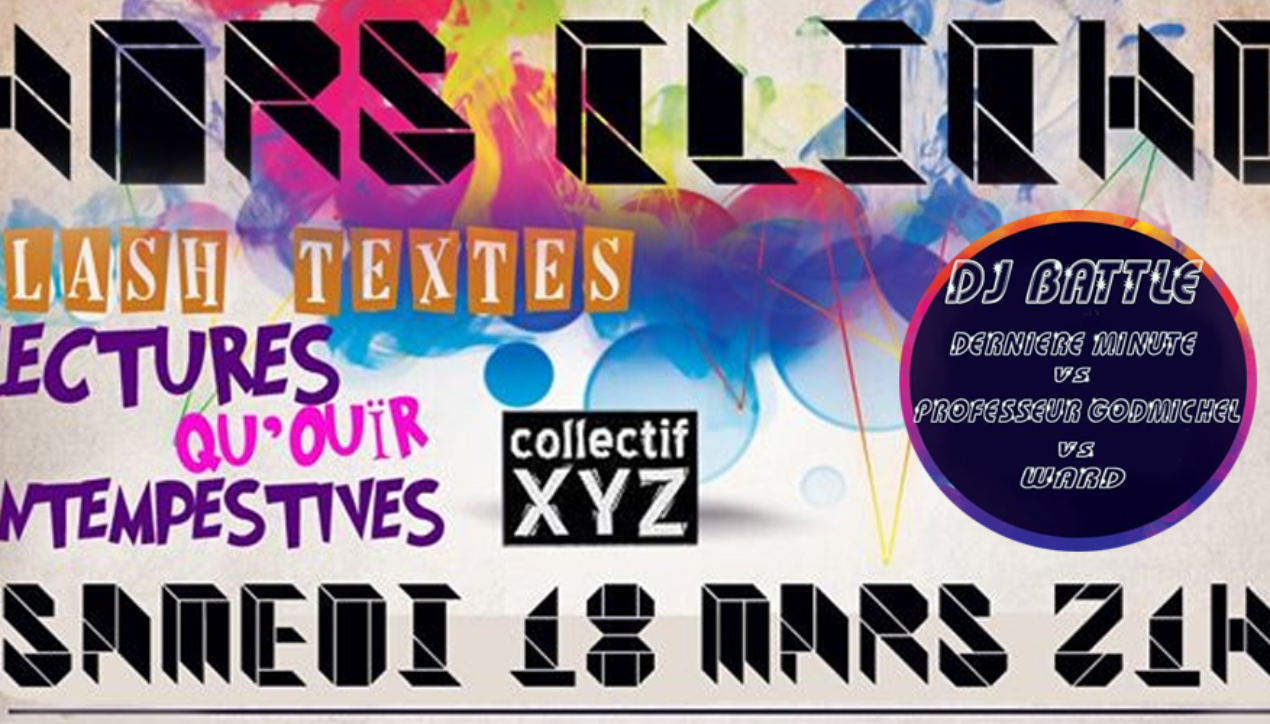 "Lectures ""Qu'ouir"" intempestives & DJ Battle"