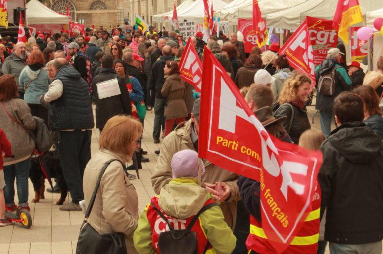 Manifestations du 1er Mai à Besançon
