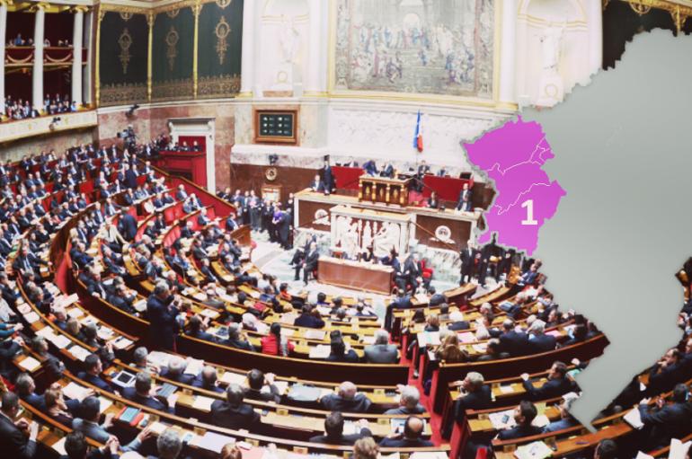 Résultats élections législatives 1e circonscription du Doubs