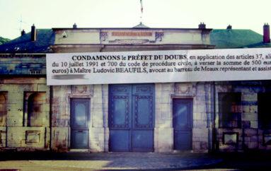 Le Préfet du Doubs, condamné par la justice