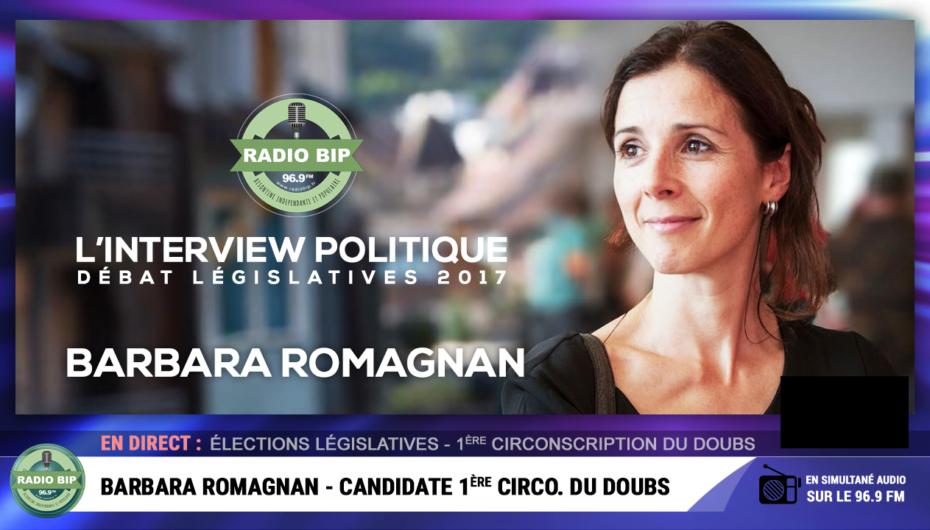VIDEO: Interview avec Barbara Romagnan