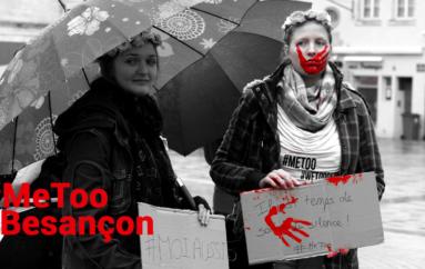#MeToo rassemble environ 40 personnes à Besançon