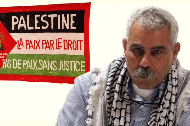 """Vidéo : Conférence-débat avec Fayez Taneeb """"L'olivier en Palestine"""""""