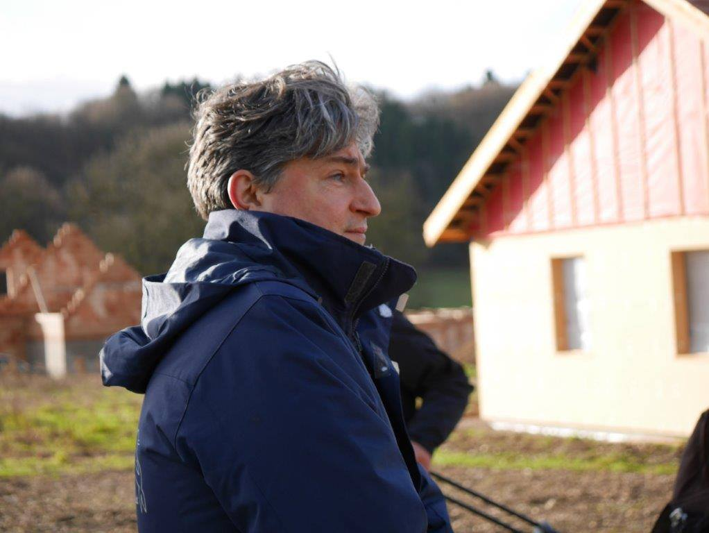 Christophe Marie, porte parole de la Fondation Brigitte Bardot. Opération de sauvetage des dernières 60 vaches par la Fondation Brigitte Bardot | Photo Humanimo