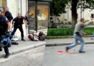 Violences policières à Dijon suite à la manif pour la ZAD