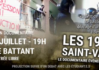 """Projection du documentaire """"Les 19 de la Saint-Valentin"""""""