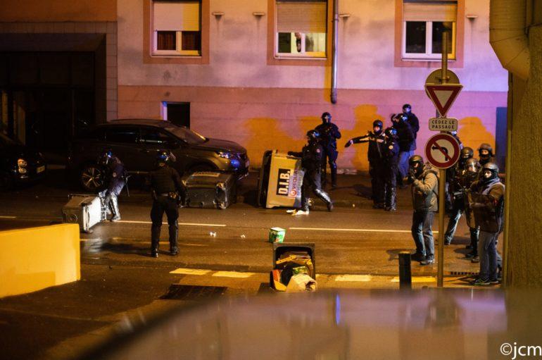 Le blessé de la manifestation acte 9 à Besançon témoigne