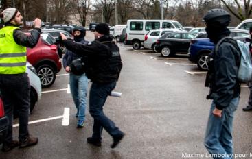 Un correspondant de presse porte plainte contre la BAC à Besançon