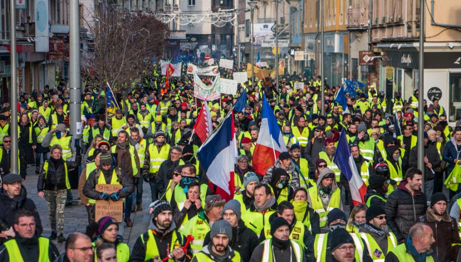 Photo reportage : Gilets Jaunes Acte 10 à Belfort