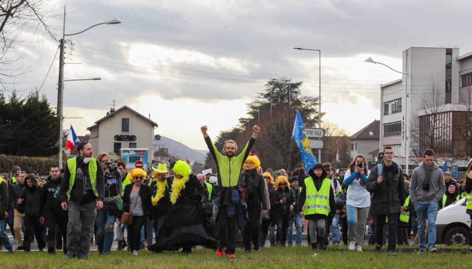 Photo Reportage : Acte 13 des Gilets Jaunes à Besançon
