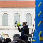 Photo Reportage – Acte 13 des Gilets Jaunes à Besançon