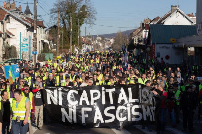 Photo Reportage : Gilets Jaunes, acte 14, Besançon