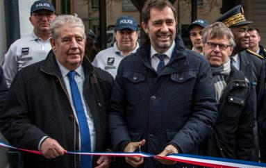 Photoreportage : Christophe Castaner inaugure le nouveau commissariat de Planoise