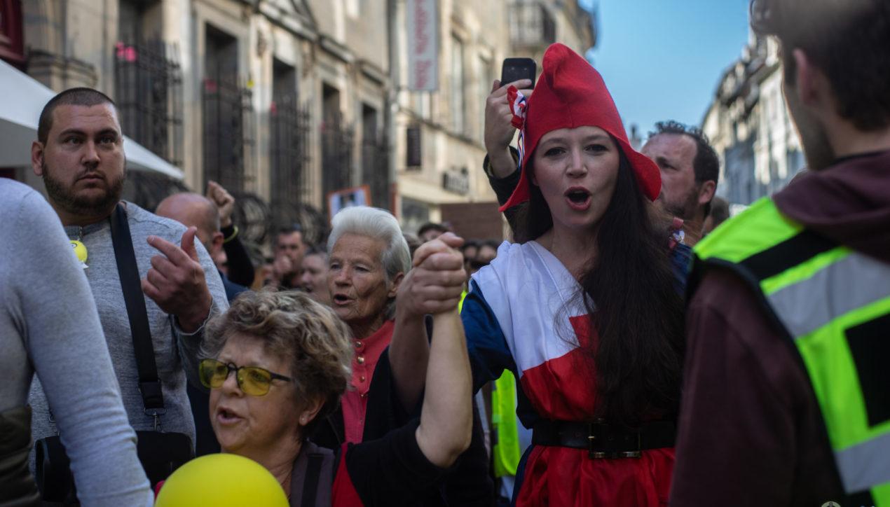 Photoreportage: L'acte 19 des Gilets Jaunes de Besançon
